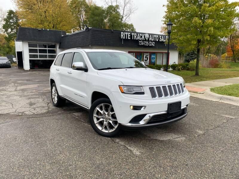 2014 Jeep Grand Cherokee for sale at Rite Track Auto Sales in Canton MI