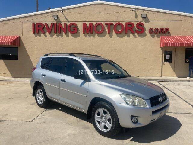 2010 Toyota RAV4 for sale at Irving Motors Corp in San Antonio TX