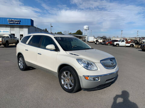 2008 Buick Enclave for sale at BULL MOTOR COMPANY in Wynne AR