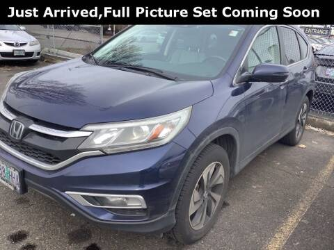 2015 Honda CR-V for sale at Royal Moore Custom Finance in Hillsboro OR