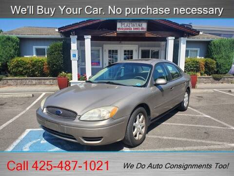 2007 Ford Taurus for sale at Platinum Autos in Woodinville WA