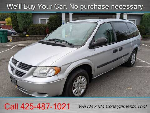 2007 Dodge Grand Caravan for sale at Platinum Autos in Woodinville WA