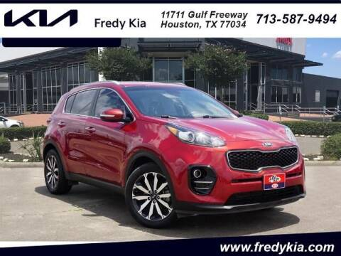 2018 Kia Sportage for sale at FREDY USED CAR SALES in Houston TX