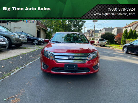 2011 Ford Fusion for sale at Big Time Auto Sales in Vauxhall NJ