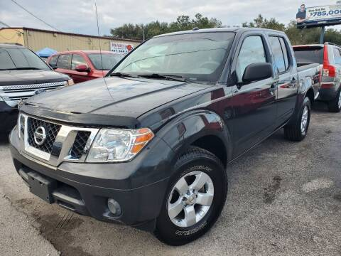 2013 Nissan Frontier for sale at Mars auto trade llc in Kissimmee FL