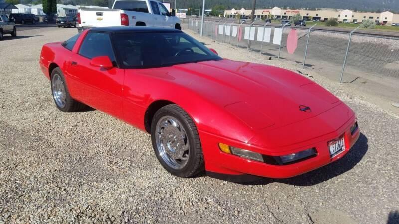 1993 Chevrolet Corvette for sale at AUTO BROKER CENTER in Lolo MT