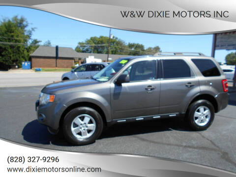 2012 Ford Escape for sale at W&W Dixie Motors Inc in Hickory NC