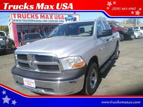 2011 RAM Ram Pickup 1500 for sale at Trucks Max USA in Manteca CA