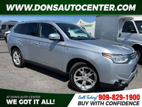 2014 Mitsubishi Outlander for sale at Dons Auto Center in Fontana CA