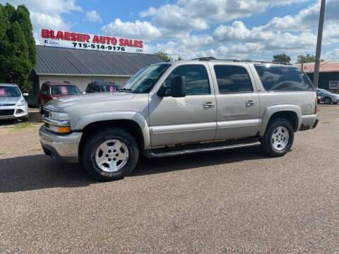 2004 Chevrolet Suburban for sale at BLAESER AUTO LLC in Chippewa Falls WI