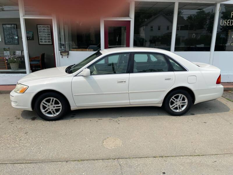 2002 Toyota Avalon for sale at O'Connell Motors in Framingham MA