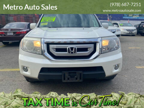 2011 Honda Pilot for sale at Metro Auto Sales in Lawrence MA
