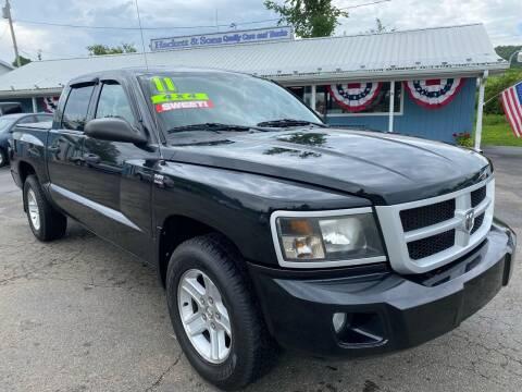 2011 RAM Dakota for sale at HACKETT & SONS LLC in Nelson PA