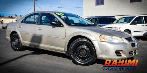 2006 Dodge Stratus for sale at Rahimi Automotive Group in Yuma AZ