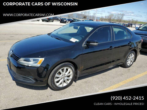 2012 Volkswagen Jetta for sale at CORPORATE CARS OF WISCONSIN - DAVES AUTO SALES OF SHEBOYGAN in Sheboygan WI