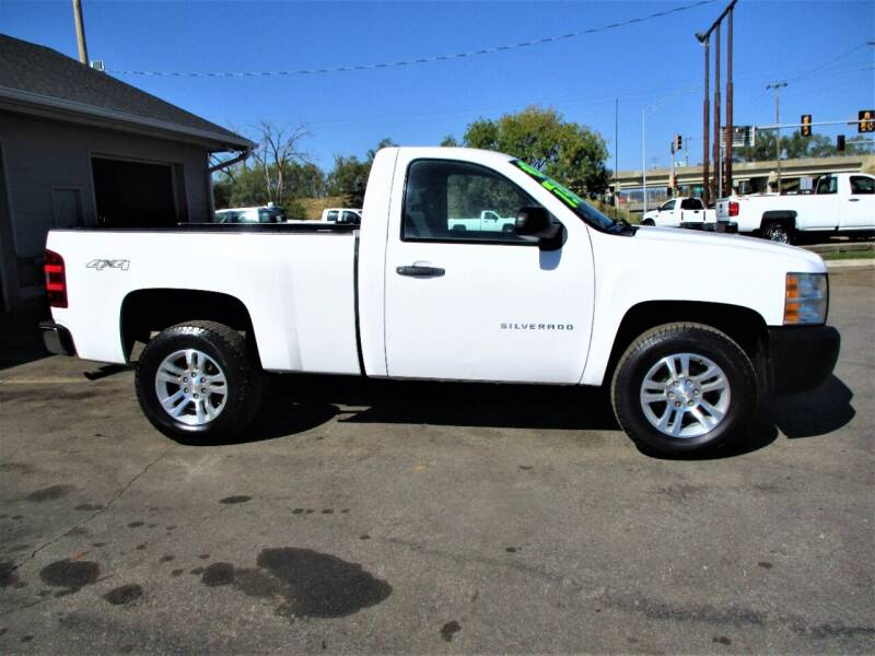 2011 Chevrolet Silverado 1500 for sale at Steffes Motors in Council Bluffs IA