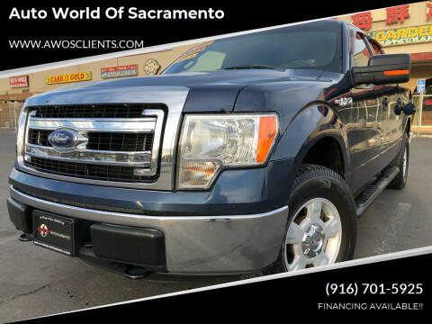 2013 Ford F-150 for sale at Auto World of Sacramento Stockton Blvd in Sacramento CA