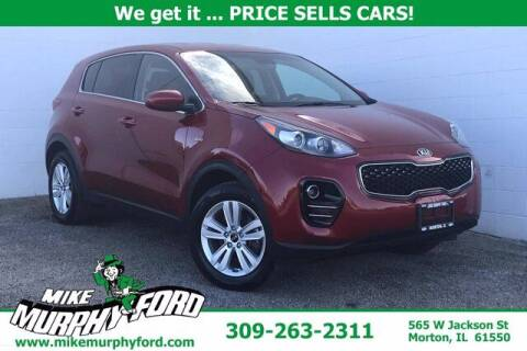 2019 Kia Sportage for sale at Mike Murphy Ford in Morton IL