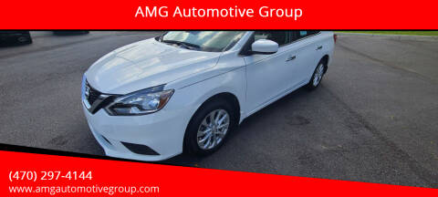 2017 Nissan Sentra for sale at AMG Automotive Group in Cumming GA