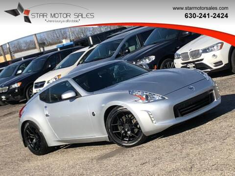 2016 Nissan 370Z for sale at Star Motor Sales in Downers Grove IL