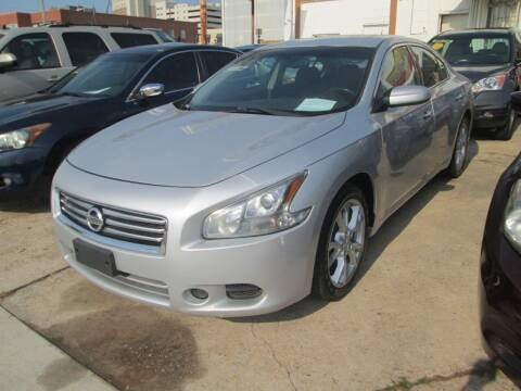 2012 Nissan Maxima for sale at Downtown Motors in Macon GA