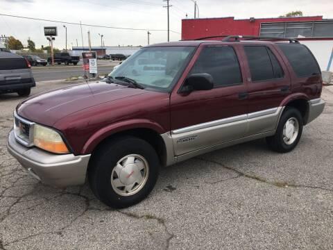 2001 GMC Jimmy for sale at Bob Fox Auto Sales in Port Huron MI