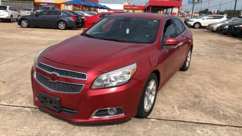 2013 Chevrolet Malibu for sale at Newsed Auto in Houston TX