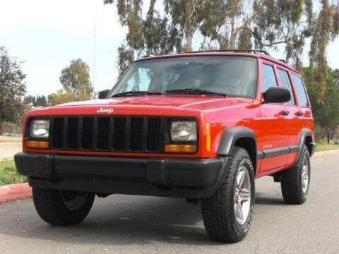1997 Jeep Cherokee for sale at J'S MOTORS in San Diego CA