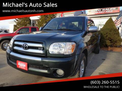 2006 Toyota Tundra for sale at Michael's Auto Sales in Derry NH