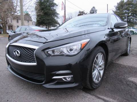 2014 Infiniti Q50 for sale at PRESTIGE IMPORT AUTO SALES in Morrisville PA