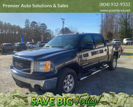 2007 GMC Sierra 1500 for sale at Premier Auto Solutions & Sales in Quinton VA