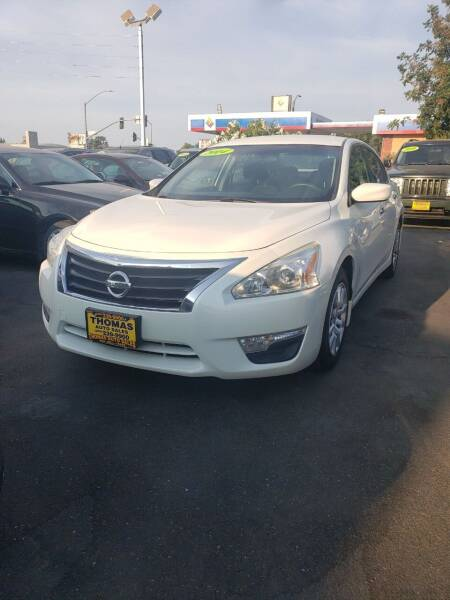 2014 Nissan Altima for sale at Thomas Auto Sales in Manteca CA