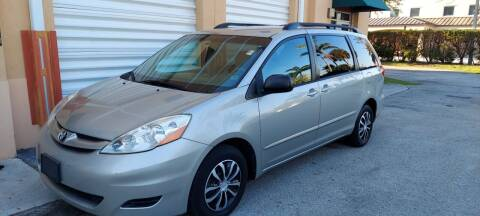 2010 Toyota Sienna for sale at Cad Auto Sales Inc in Miami FL