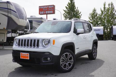 2016 Jeep Renegade for sale at Frontier Auto & RV Sales in Anchorage AK