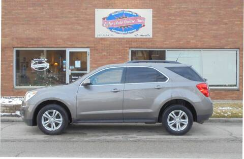 2011 Chevrolet Equinox for sale at Eyler Auto Center Inc. in Rushville IL
