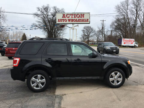 2009 Ford Escape for sale at Action Auto Wholesale in Painesville OH