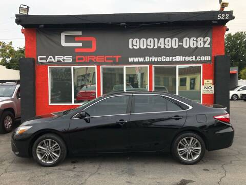 2017 Toyota Camry for sale at Cars Direct in Ontario CA
