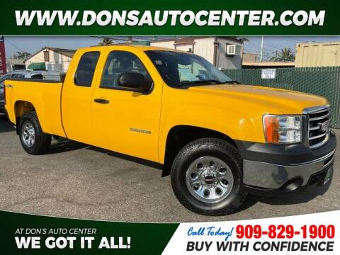 2013 GMC Sierra 1500 for sale at Dons Auto Center in Fontana CA