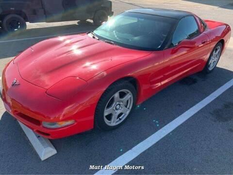 1999 Chevrolet Corvette for sale at Matt Hagen Motors in Newport NC