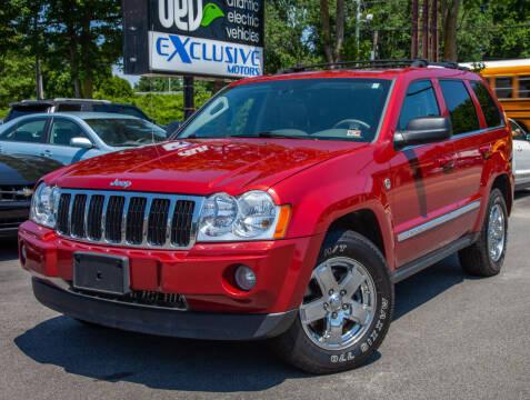 2006 Jeep Grand Cherokee for sale at EXCLUSIVE MOTORS in Virginia Beach VA