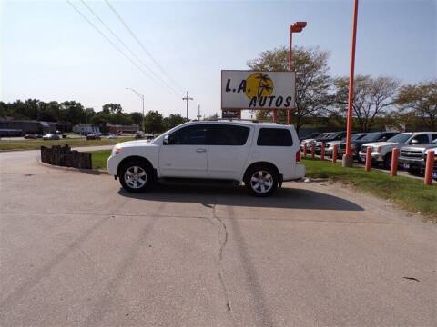 2008 Nissan Armada for sale at L A AUTOS in Omaha NE