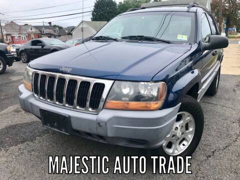 2000 Jeep Grand Cherokee for sale at Majestic Auto Trade in Easton PA