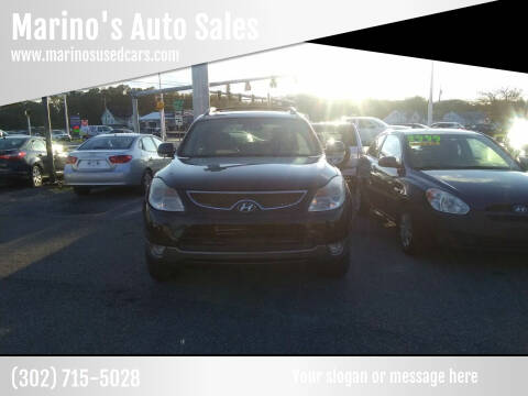 2010 Hyundai Veracruz for sale at Marino's Auto Sales in Laurel DE