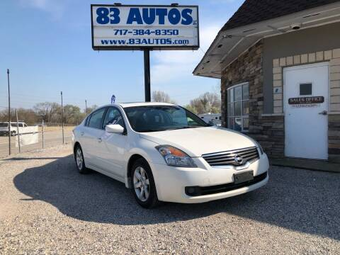 2009 Nissan Altima for sale at 83 Autos in York PA