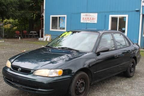 1999 Toyota Corolla for sale at Sarabi Auto Sale in Puyallup WA