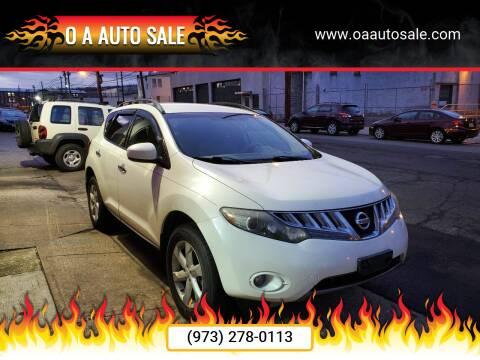 2009 Nissan Murano for sale at O A Auto Sale in Paterson NJ