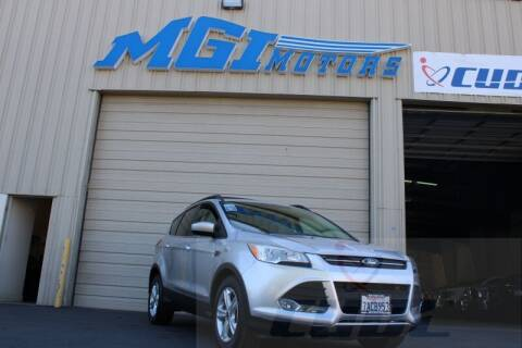 2013 Ford Escape for sale at MGI Motors in Sacramento CA