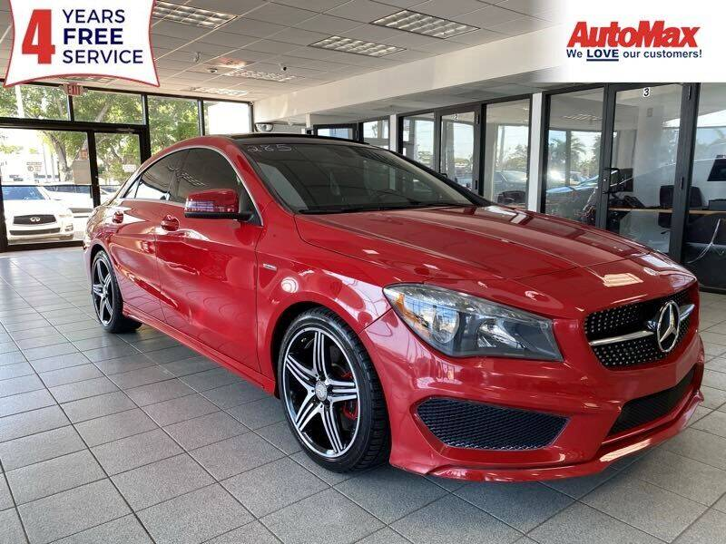 2014 Mercedes-Benz CLA for sale at Auto Max in Hollywood FL