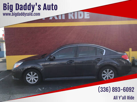 2011 Subaru Legacy for sale at Big Daddy's Auto in Winston-Salem NC