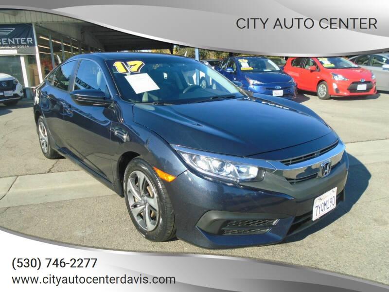 2017 Honda Civic for sale at City Auto Center in Davis CA